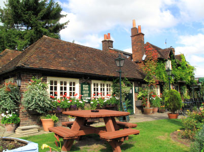 pub garden watering systems Hampshire
